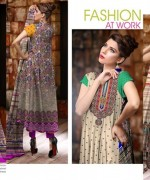 Ajwa Textile Chiffon Collection 2015 Volume 1 For Women 0012