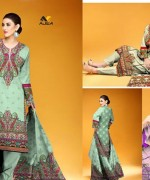 Ajwa Textile Chiffon Collection 2015 Volume 1 For Women 002