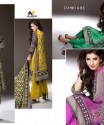 Ajwa Textile Chiffon Collection 2015 Volume 1 For Women 005