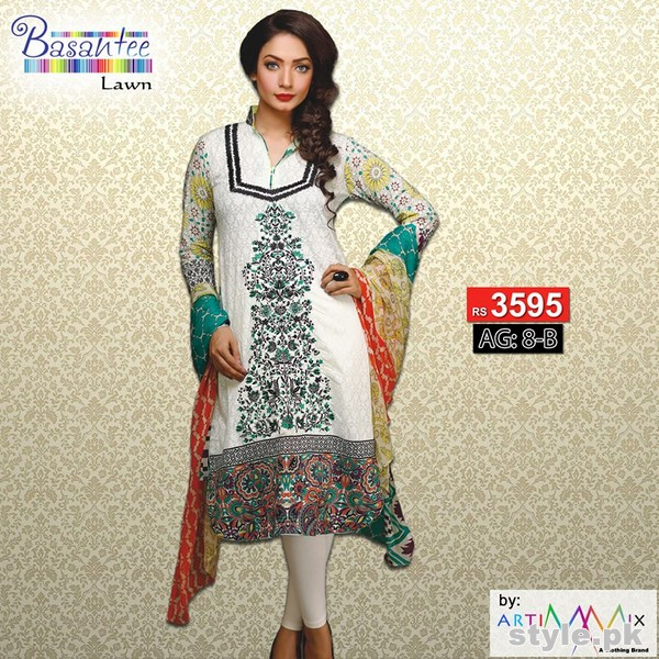 Artimmix Lawn Dresses 2015 For Summer 5