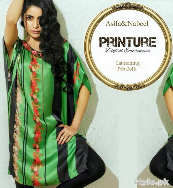 Asifa and Nabeel Summer Dresses 2015 For Girls 3