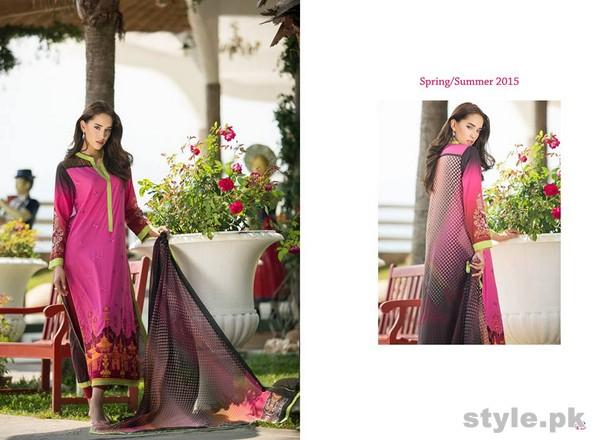 AyeshaZara Spring Summer Dresses 2015 by Al-Zohaib Textile 12