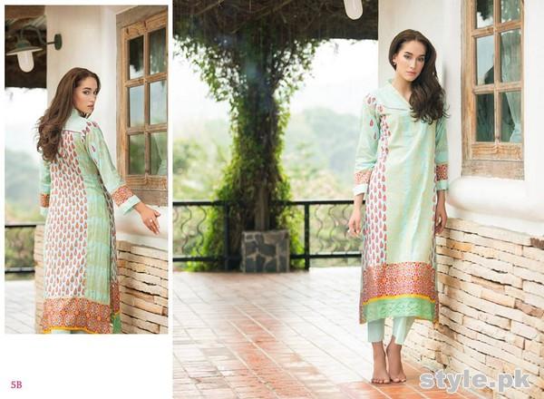 AyeshaZara Spring Summer Dresses 2015 by Al-Zohaib Textile 9