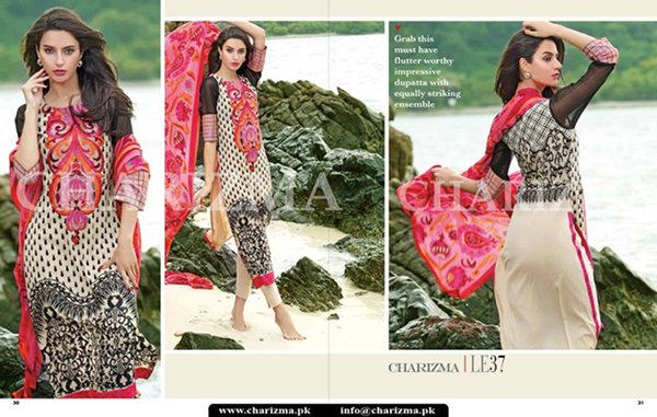 Charizma Summer Dresses 2015  Volume 1 For Women 007