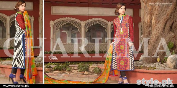 Charizma Swiss Voile Dresses 2015 Volume 1 For Summer 6