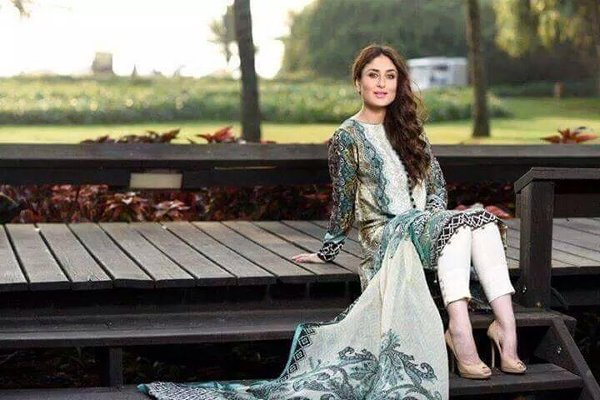 Crescent Lawn Dresses 2015 By Faraz Manan  0017