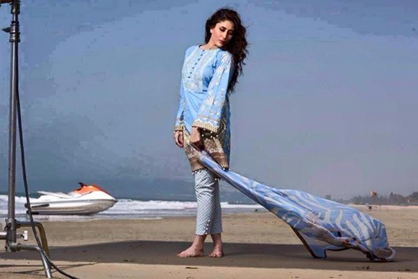 Crescent Lawn Dresses 2015 By Faraz Manan  002