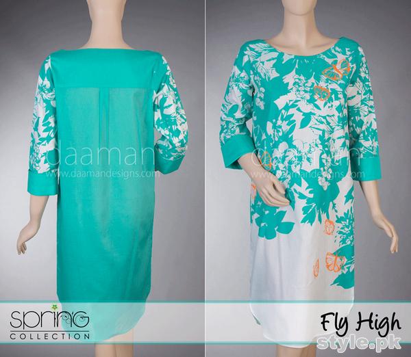 Daaman Spring Dresses 2015 For Girls 6