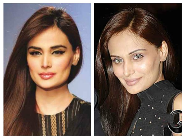 How Pakistani Female Models Look Without Makeup004
