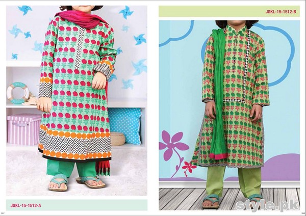 Junaid Jamshed Summer Collection 2015 For Kids 12