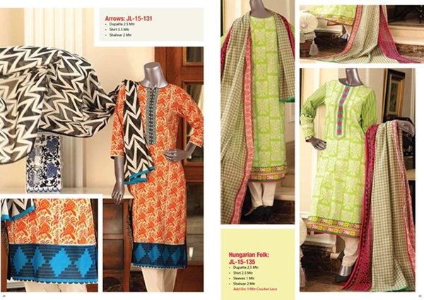 Junaid Jamshed Summer Collection 2015 Volume 1 For Women 0015