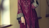 Maria B Mbroidered Dresses 2015 For Women 4