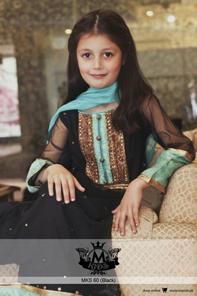 Maria B Winter Dresses 2015 for Kids 004