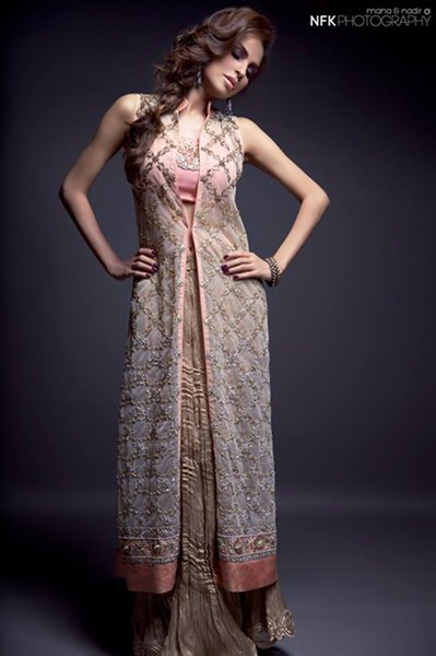 Momina Teli Party Dresses 2015 For Women 003