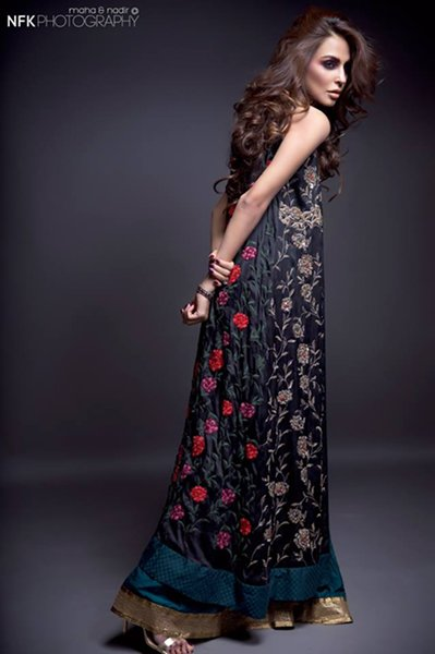 Momina Teli Party Dresses 2015 For Women 007