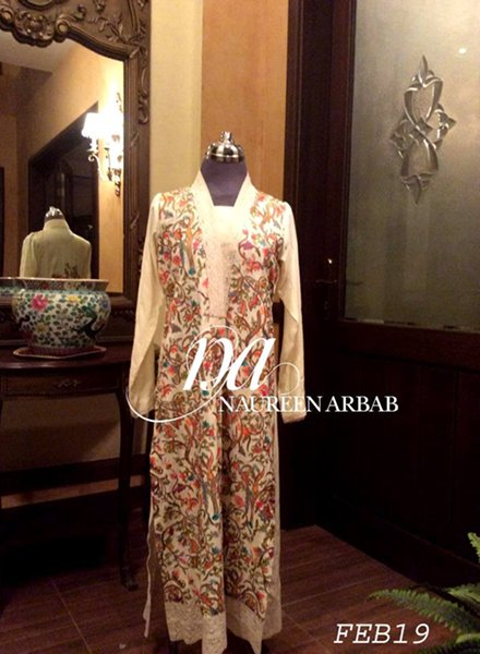 Naureen Arbab Spring Collection 2015 For Women  006