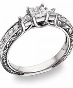 New Designs Of Antique Engagement Rings 2015 006