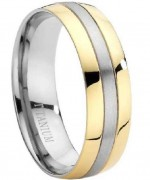 Designer Mens Wedding Band