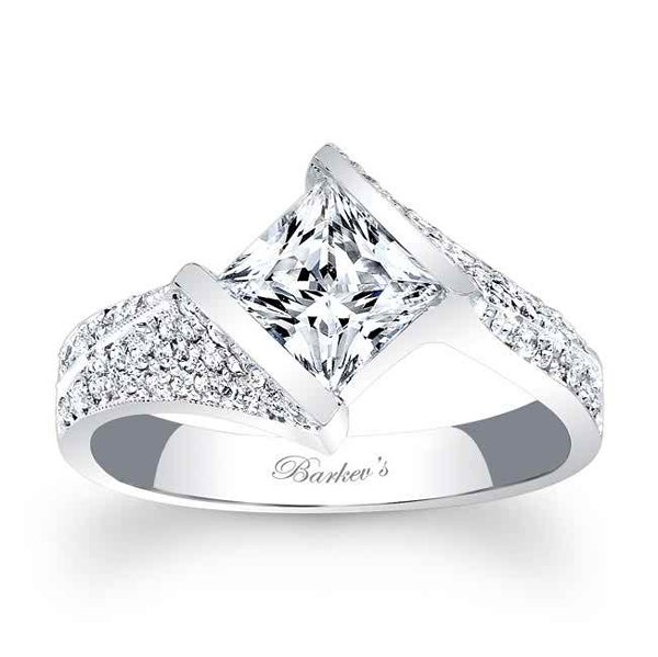 New Designs Of Princess Cut Engagement Rings 0014