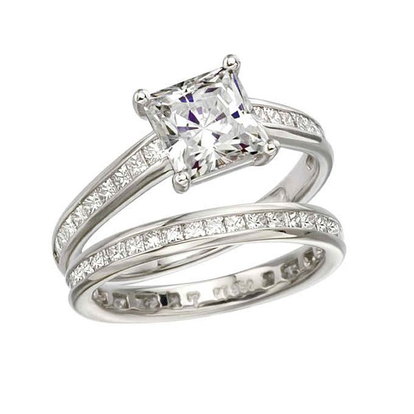 New Designs Of Princess Cut Engagement Rings 0016