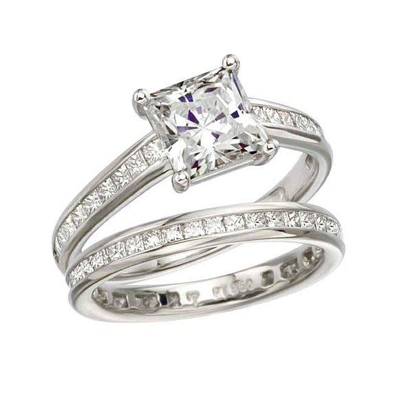 Princess Wedding Rings 19 Unique New Designs Of Princess