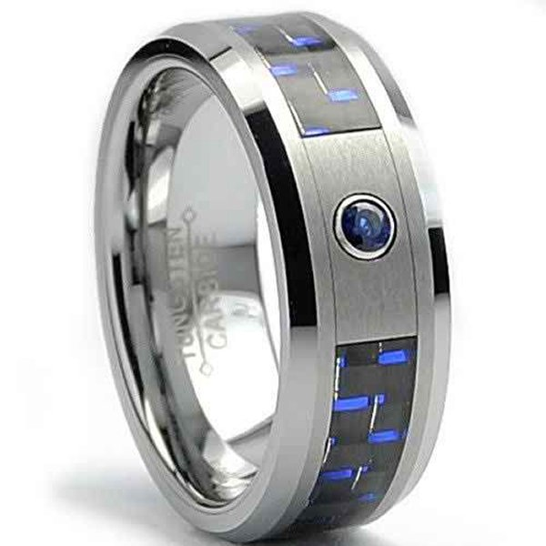 New Designs Of Tungsten Wedding Bands 2015 003