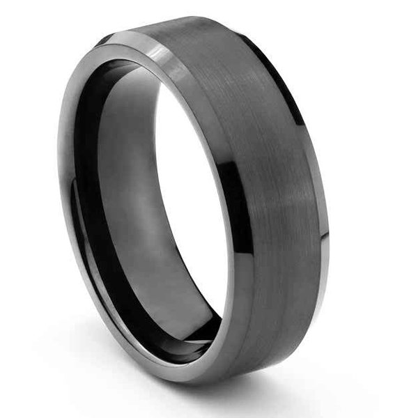 New Designs Of Tungsten Wedding Bands 2015 08