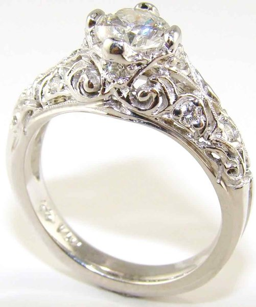 Vintage Engagement Rings Designs