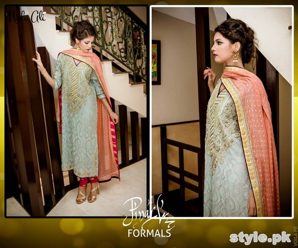 Nida Ali Formal Dresses 2015 For Girls 5