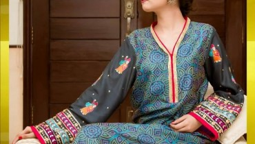 Nida Ali Formal Dresses 2015 For Girls 7