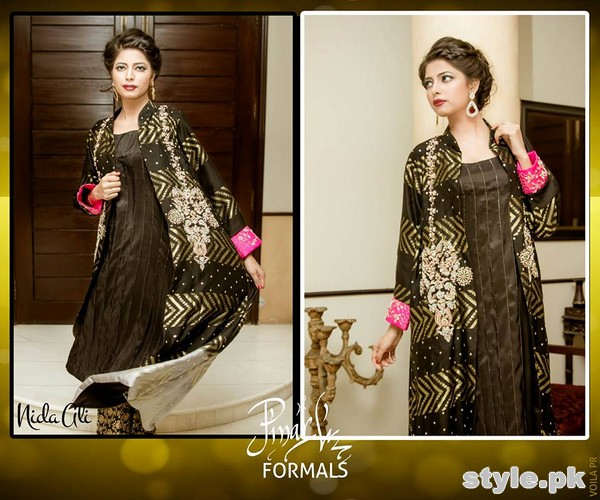 Nida Ali Formal Dresses 2015 For Girls 8