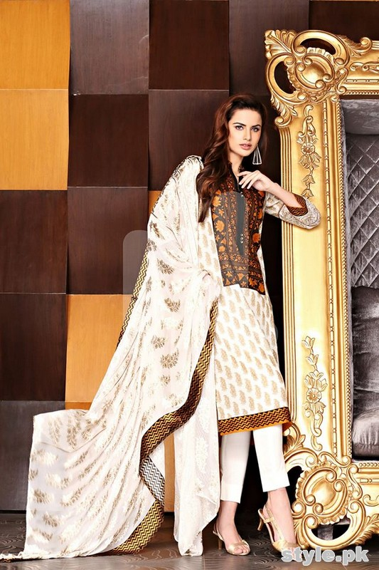 Nishat Linen Spring Summer Dresses 2015 For Women 10