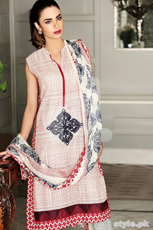 Nishat Linen Spring Summer Dresses 2015 For Women 8