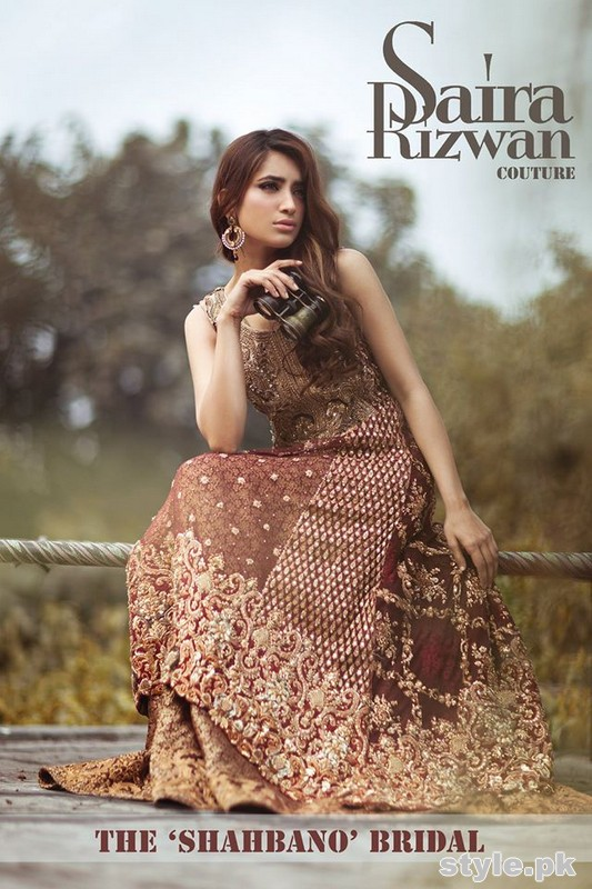 Saira Rizwan Bridal Dresses 2015 For Women 5