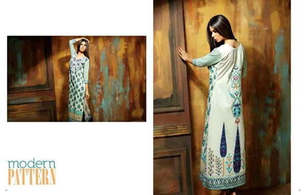 Shariq Textiles Subhata Kurti Collection 2015 For Women 0015