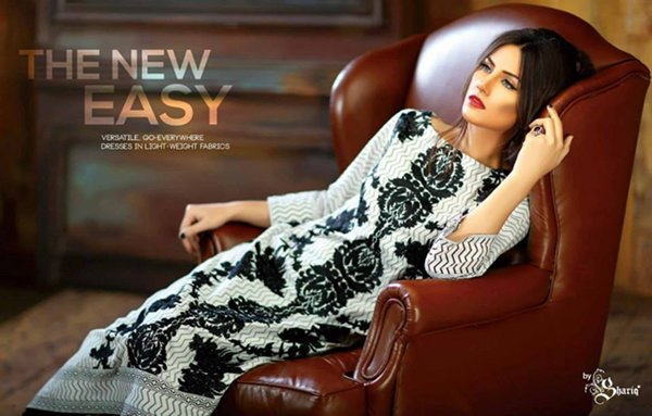 Shariq Textiles Subhata Kurti Collection 2015 For Women 0016