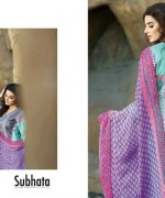 Subhata Embroidered Collection 2015 Shariq Textiles 9
