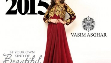 Vasim Asghar Formal Wear Dresses 2015 For Women 3
