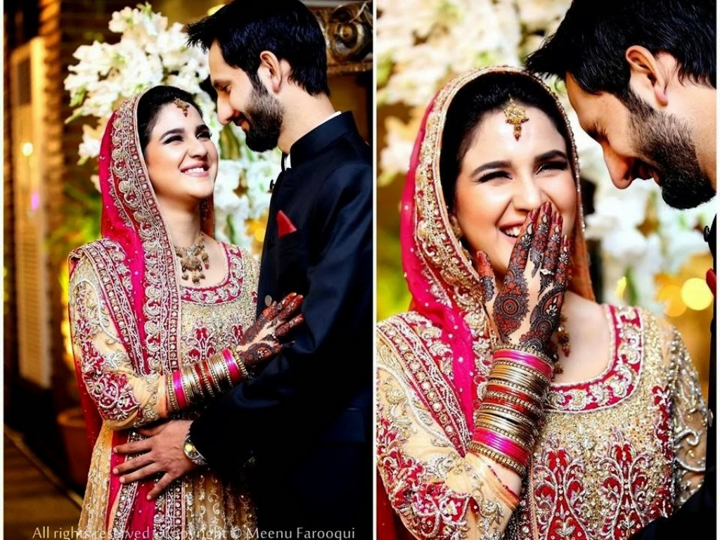 complete wedding pictures of anoushay abbasi