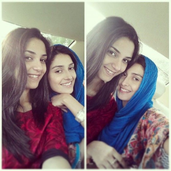 ayeza khan and maya ali without makeup