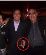 javed sheikh in a party