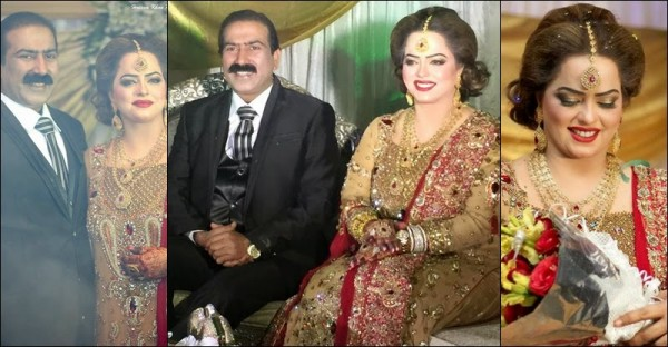 Pakistani Actress Madiha Shah Wedding Pictures