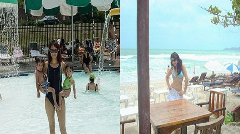 pakistani actresses on beach pics
