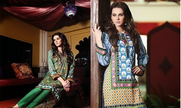 Chinyere Lawn Collection 2015 For Women 005
