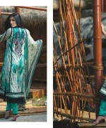 Firdous Cloth Mills Korean Lawn Collection 2015 For Women 0011