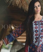 Firdous Cloth Mills Korean Lawn Collection 2015 For Women 003