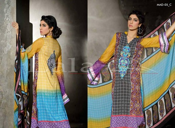 Lala Tetiles Madham Embroidered Lawn Collection 2015 For Women 009