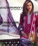 Mausummery By Huma Summer Collection 2015 For Women