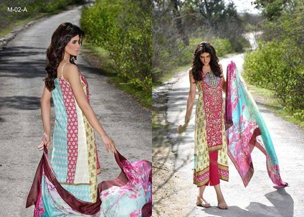 Mehdi Lawn Collection 2015 By Al Zohaib Textile 006