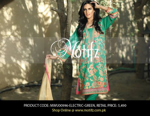 Motifz Lawn Collection 2015 Volume 1 For Women 04